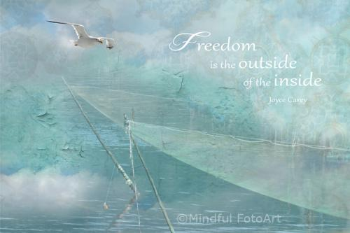 freedom is the outside of the inside